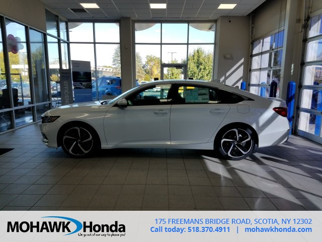 New 2018 Honda Accord Sport 4d Sedan In Scotia N0374